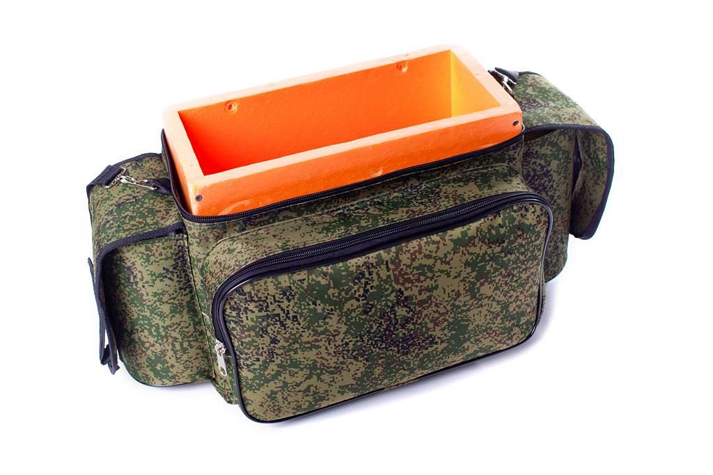 ящики и сумки рыбака